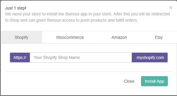 How to integrate my Shopfiy store? - Beeoux